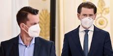 Polit-Barometer:Mückstein steigt auf, Kurz stürzt ab