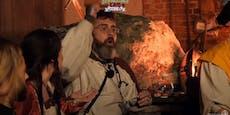 """Sido betrunken vor laufender Kamera: """"Ich bin Jesus!"""""""