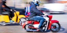 Moped-Rowdy (15) erhält nach Flucht 25 Anzeigen