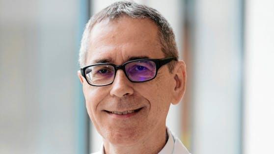 Univ.-Prof. Dr.Heinz Burgmann,Leiter der Infektiologie und Tropenmedizin am AKH Wien