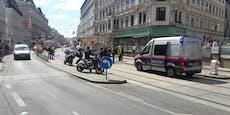 Großeinsatz auf MaHü, Straße nach Heli-Landung gesperrt