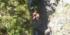 Hündin stürzte in 40 Meter tiefe Kärntner Schlucht