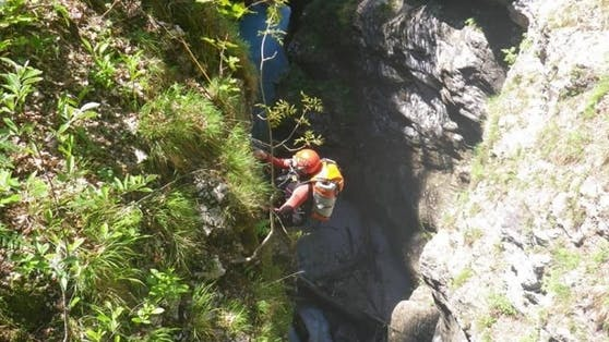 Die Bergrettung Ferlach zeichnete sich wieder einmal mit einer aussergewöhnlichen Rettungsaktion aus!