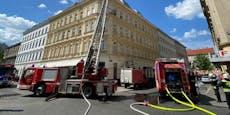 Lokalbrand in Wien-Ottakring forderte drei Verletzte