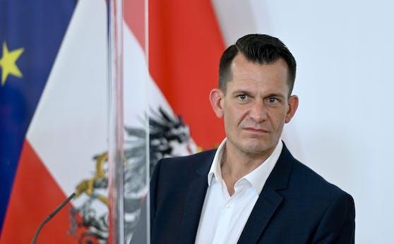 Gesundheitsminister Wolfgang Mückstein (Grüne)