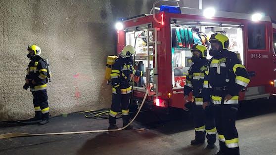 Die Feuerwehr ist bereits vor Ort.