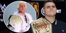 Wiener Wrestler WALTER schon jetzt besser als Ric Flair