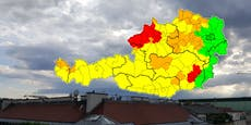 Unwetter-Alarm! Hagel-Gewitter rückt Wien immer näher