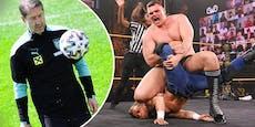 """WWE-Star WALTER kritisiert Foda: """"ÖFB-Team komisch!"""""""