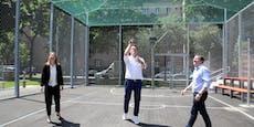 Czernohorszky gibt Park-Eröffnung einen Korb