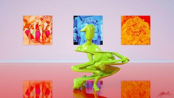Diese Skulptur von Marjan Moghaddam wird bei der PROOF OF ART gezeigt.