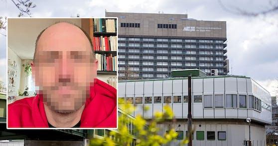 Der 39-jährige Wiener wünscht sich eine Behandlung im Wiener AKH