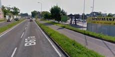 Lkw erfasst Radfahrerin undschleift sie mit – Not-OP!