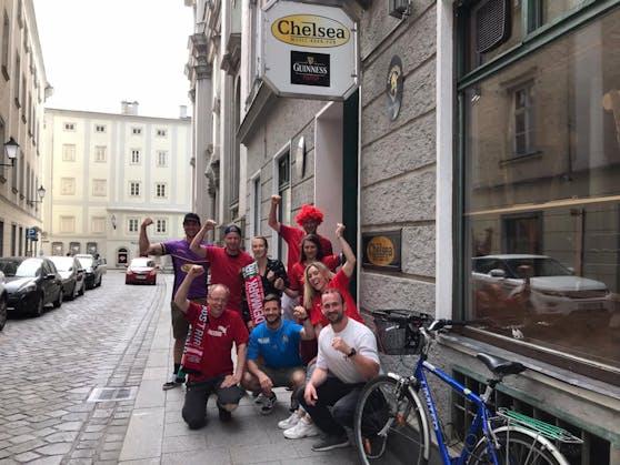 Beim Chelsea-Pub in der Linzer Domgasse werden alle Spiele gezeigt.
