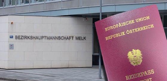 Kein Reisepass für Kind auf der BH Melk