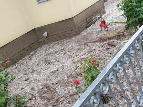 Der Starkregen führte zu Überschwemmungen.