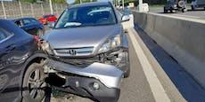 Wiener Alfa-Fahrer verursacht Unfall auf A2 und flieht