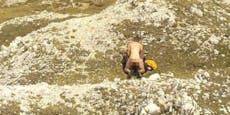 Webcam filmt Pärchen bei Sex mitten in Kärntner Alpen