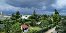 So wütete das Unwetter in Wien & Niederösterreich