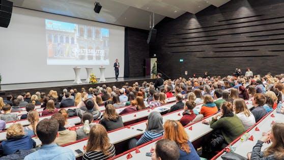 Das Audimax der Universität Wien (Archivbild)