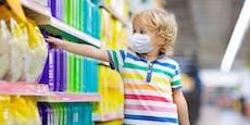 Vierjähriger (!) bei Diebestour in Supermarkt erwischt