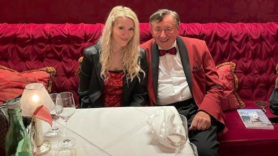 Richard Lugner mit neuer Freundin.