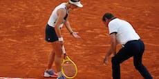 Schiri kostet ihr durch Fehler fast French-Open-Finale