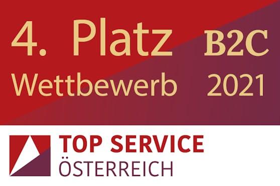 Top Service 2021: Samsung erneut unter den Top 5 in Österreich.