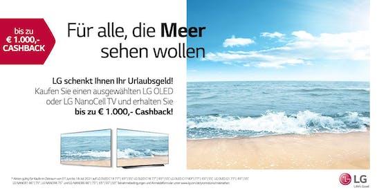 Sportlicher Sommerstart mit der LG Cashback-Aktion.