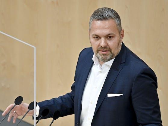"""Axel Melchior (ÖVP): """"Mit ihrem destruktiven Verhalten, das keinerlei neue Konzepte hervorbringt, befinden sich die NEOS auf dem Irrweg"""""""