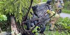 25-Jährige stundenlang in Unfallwrack eingeklemmt