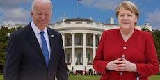 Worüber Merkel mit Biden am 15. Juli sprechen will