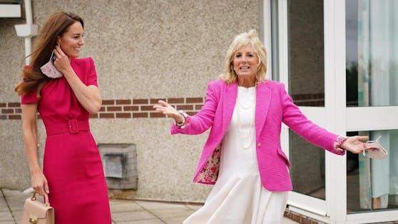 US-First Lady Dr.Jill Biden und Herzogin Kate
