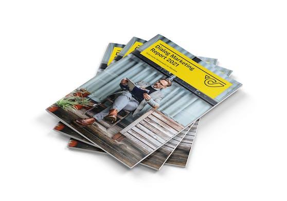 Dialog Marketing Report 2021 der Post: Flugblatt stärkt Trend zu regionalen Produkten.