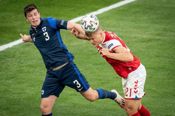 Dänemark gegen Finnland