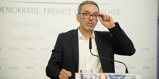 Ab Samstag offiziell FPÖ-Chef: Herbert Kickl.