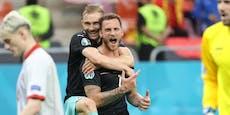 3:1! Arnautovic schießt ÖFB-Team zum historischen Sieg