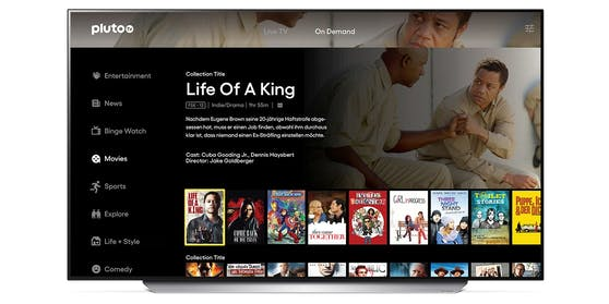 LG webOS: Browser-Updates, Spotify Video Podcast und neue Pluto TV-App.