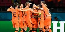 Krimi in ÖFB-Gruppe!Niederlande schlagen Ukraine 3:2