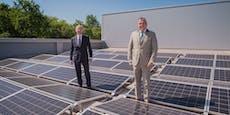 EVN rüstet Wasseranlagen mit Photovoltaik-Modulen aus