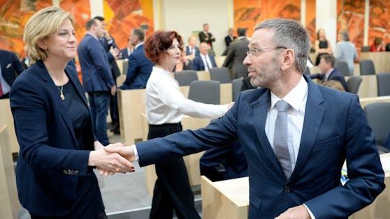 Herbert Kickl und Beate Meinl-Reisinger haben eins gemeinsam: sie haben das volle Vertrauen ihrer Wählerschaft
