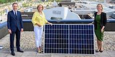 Größte Photovoltaikanlage auf einem Einkaufszentrum
