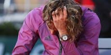 Vor Paris-Finale erfuhr Tsitsipas von Schicksalsschlag