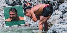 Heiße Fotos! Hirscher zeigt beim Schwimmen viel Haut