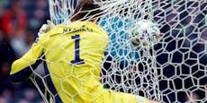 2:0! Tschechien siegt gegen Schottland mit Traumtor