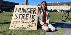 Hungerstreik am Heldenplatz für Klimaschutz