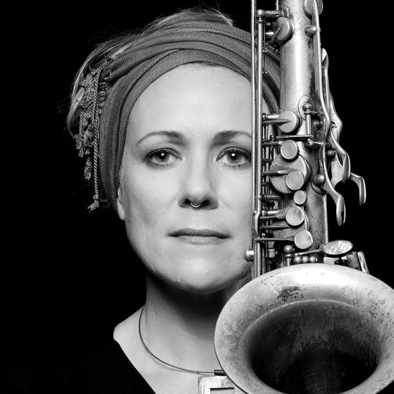 Saxophonistin Swantje Lampert