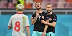 Urteil morgen: Arnautovic drohen zehn Spiele Sperre