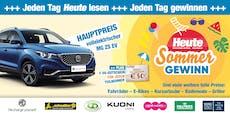 """E-Auto, Urlaube, Bikes: """"Heute"""" schenkt dir den Sommer!"""