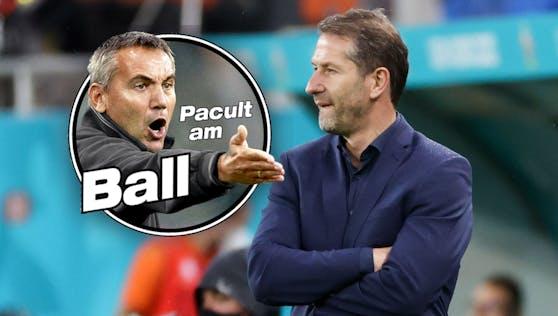 Peter Pacult, Franco Foda
